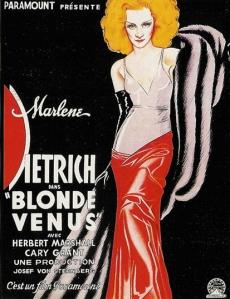 Blond Venus 1931 Marlene Dietrich