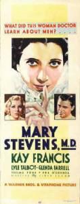 Mary Stevens M.D. 1933 Kay Francis