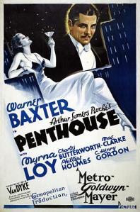 Penthouse 1933 Myrna Loy Warner Baxter