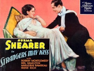 Strangers May Kiss 1932 Norma Shearer