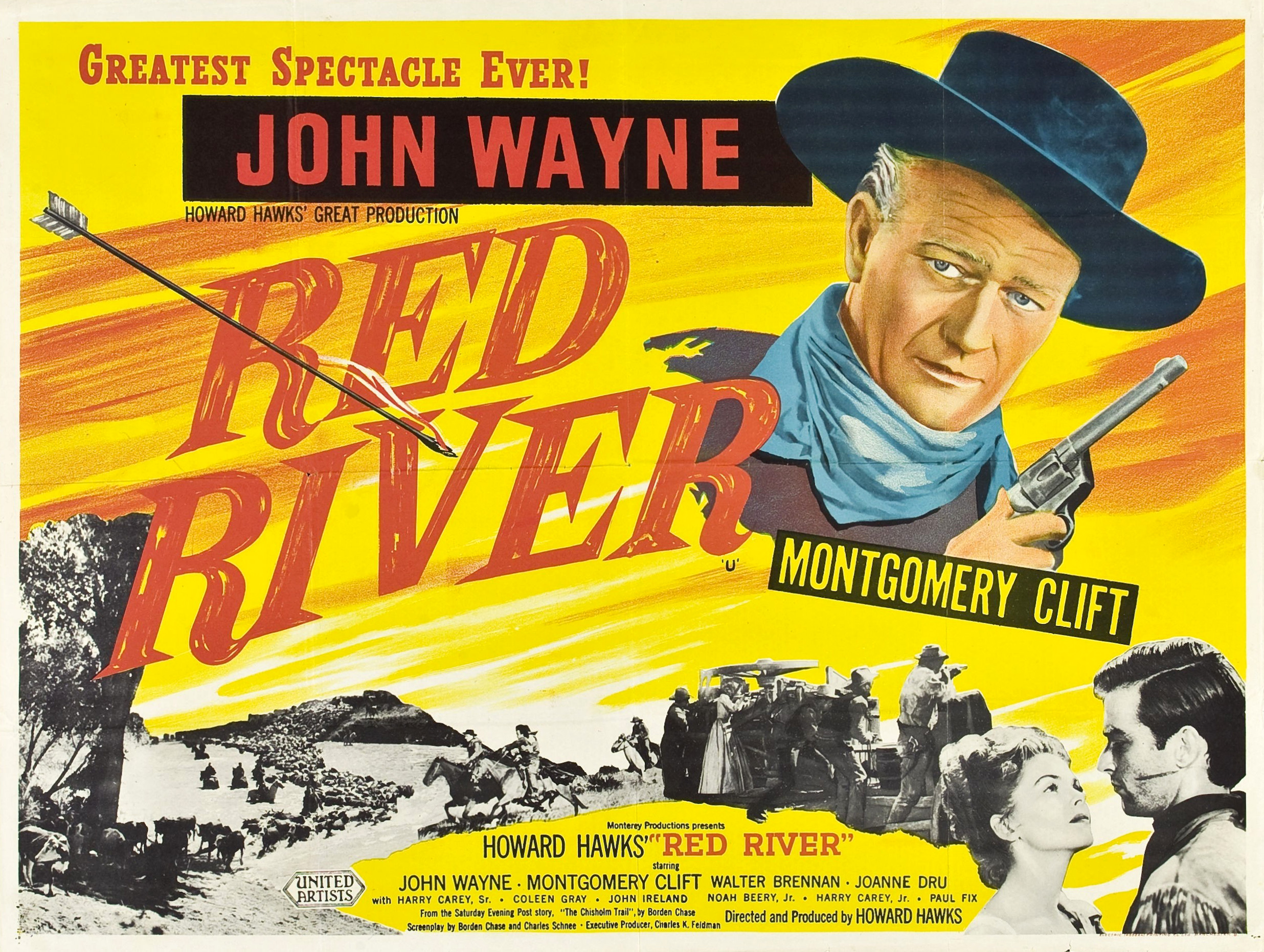 Image result for RED RIVER 1948 movie