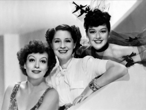 Norma Joan and Roz in The Women