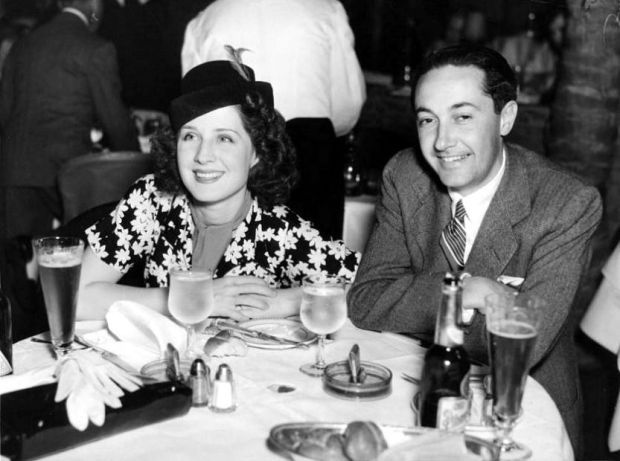 Norma with Irving Thalberg
