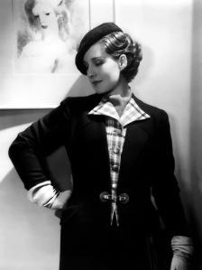 Norma Shearer Beret
