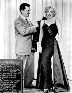 Travilla and Marilyn