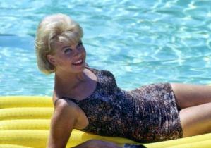 Doris Day Swimming