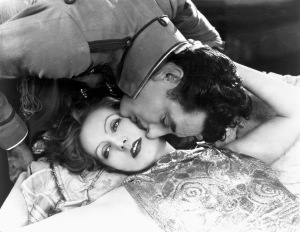 Greta Garbo and John Gilbert in Flesh and the Devil