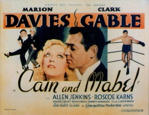 Cain and Mabel Poster