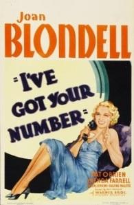 I've Got Your Numbe 1934