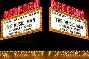 Shirley Jones Redford Theater Marquee