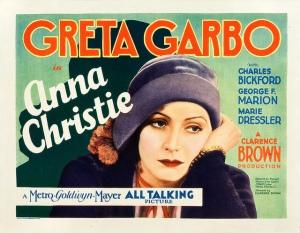 Anna Christie 1930 Poster