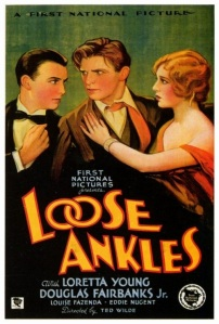 Loose Ankles 1930 Poster