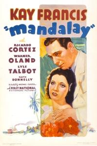 Mandalay 1934 Poster