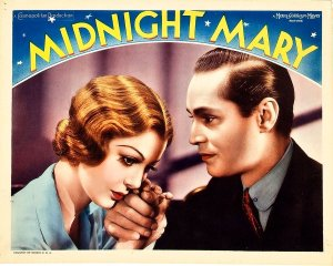 Midnight Mary 1933 poster