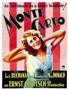 Monte Carlo 1930 Poster