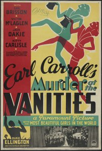 Murder at the Vanities Poster