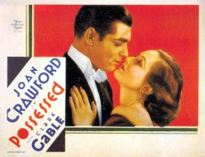 Possessed 1931 Joan Crawford Clark Gable