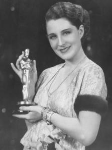 Norma Shearer with Oscar
