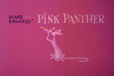 Pink Panther Title Card