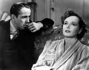 Mary Astor Humprhey Bogart Maltese Falcon