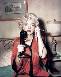 Marilyn Monroe Some Like it Hot Phone Call Scene