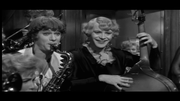 Some Like it Hot Jack Lemmon Backwards Bass