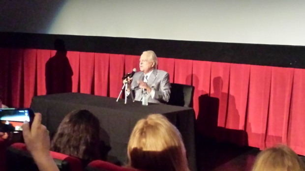 Robert Osborne at Press Day, TCMFF 2014