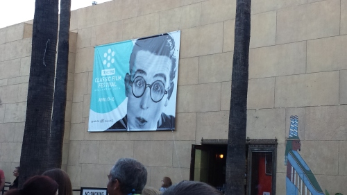 Harold Lloyd Egyptian Theater TCMFF 2014