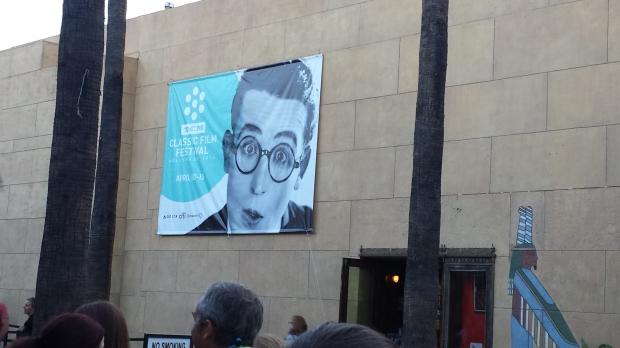 Harold Lloyd Egyptian Theater TCMFF 2014