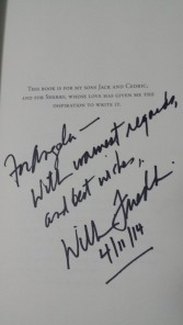 William Friedkin Autograph TCMFF 2014