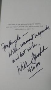 William Friedkin Autograph TCMFF 2014