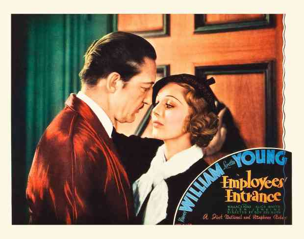 Employees Entrance Lobby Card