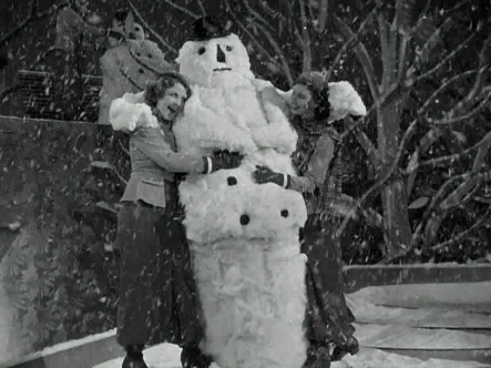 Gold Diggers of 1933 Snowman