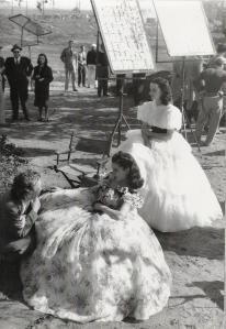 Vivien Leigh behind the scenes Gone With the Wind
