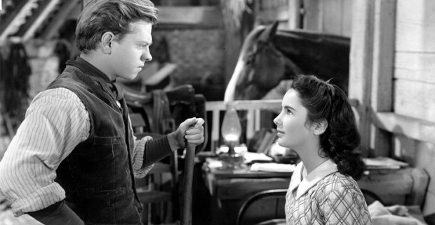 National Velvet Mickey Rooney Elizabeth Taylor