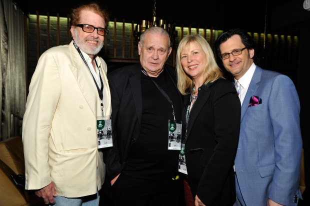 Ben Mankiewicz, Paul Le Mat, Candy Clark, Bo Hopkins TCMFF 2013