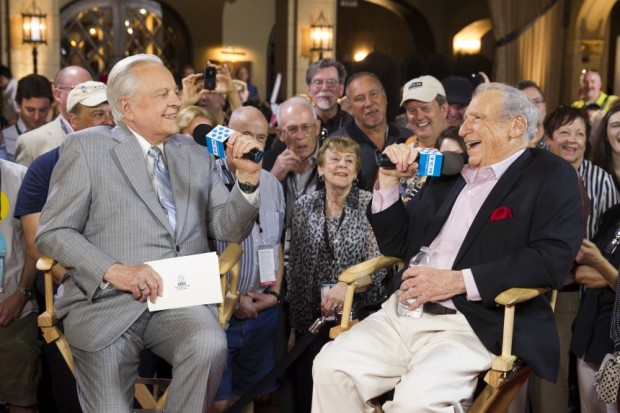 Mel Brooks Robert Osborne TCMFF Interview