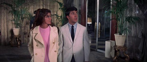 Elaine Robinson Benjamin Braddock First Date The Graduate