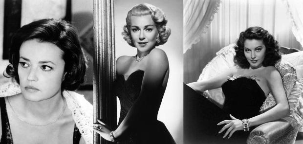 Jeanne Moreau Lana Turner Ava Gardner