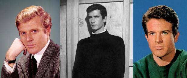Robert Redford Anthony Perkins Warren Beatty