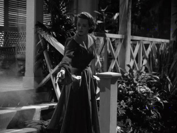 Bette Davis The Letter Opening Scene