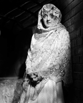 Bette Davis The Letter White Lace Shawl