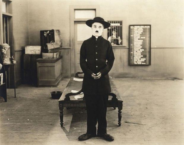 Chaplin The Pilgrim