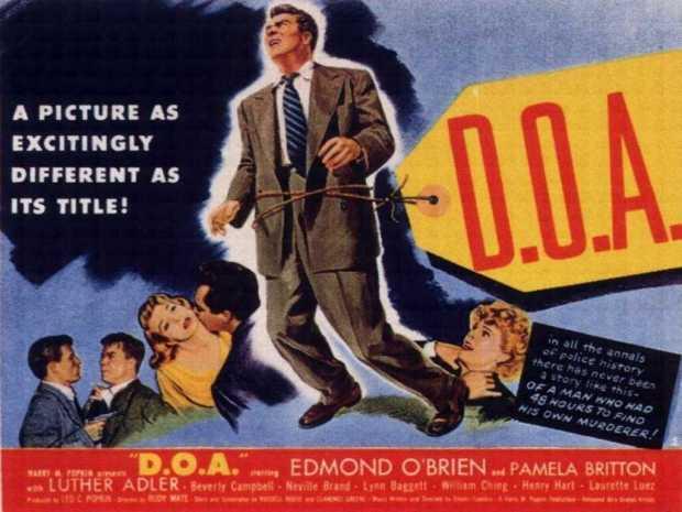 D.O.A. 1950 Poster