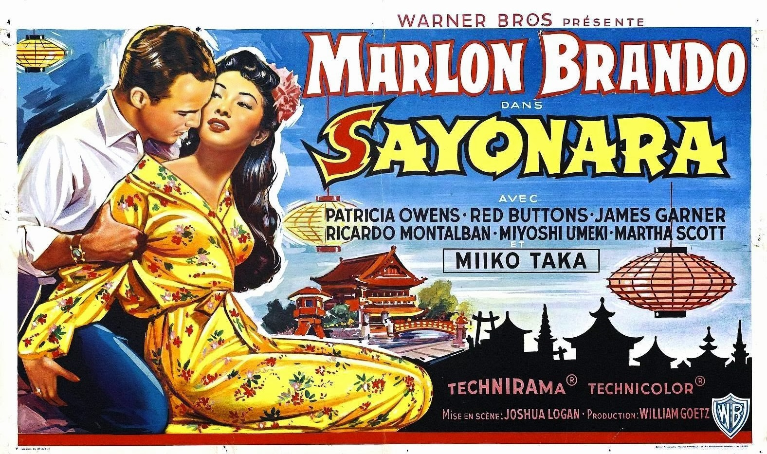Image result for images from sayonara in 1957