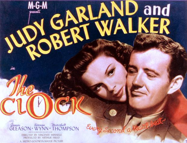 The Clock 1945 Poster