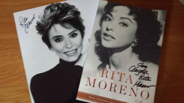 Rita Moreno Autographs