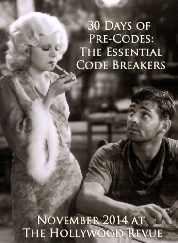 30 Days of Pre-Codes 2014