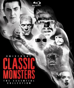 Universal Classic Monsters: The Essentials Blu-Ray Collection
