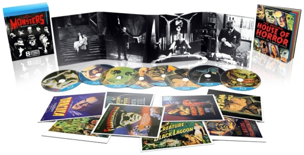 Universal Classic Monsters: The Essentials Blu-Ray Collection UK Import